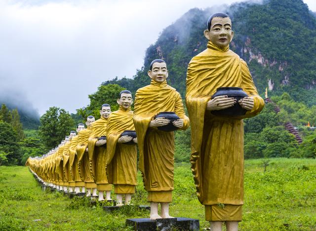 Buddha image statue Burma Style
