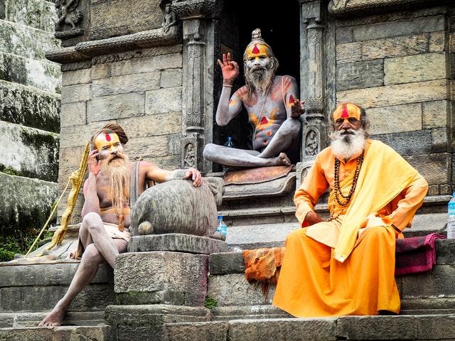 The Holymen of Pashupati