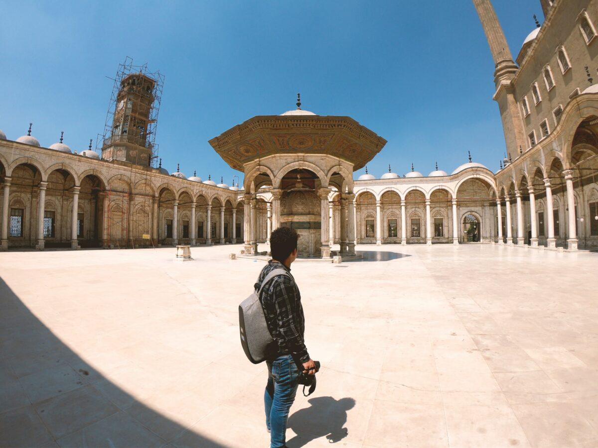 traveler in egypt